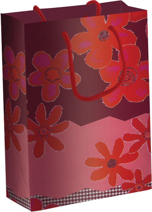 Пакет бумажный подарочный, размер 33 х 43 х 10 см, эффект: матовая ламинация, плотность бумаги 157 гр/м2 упак. 12/120/240 шт. Regalissimi