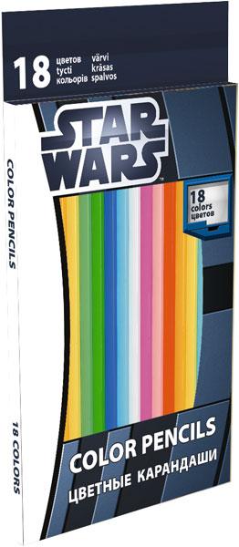 Набор цветных карандашей, 18 шт. The Clone Wars (Clone wars)