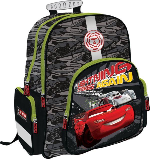 Рюкзак ортопедический с EVA-спинкой, размер38 х 36 х 18 см, упак. 3//12шт. Cars