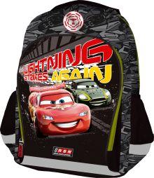 Рюкзак, мягкая спинка с вентиляционной сеткой, размер 40 х 30 х 13 см, упак. 3//12. Cars