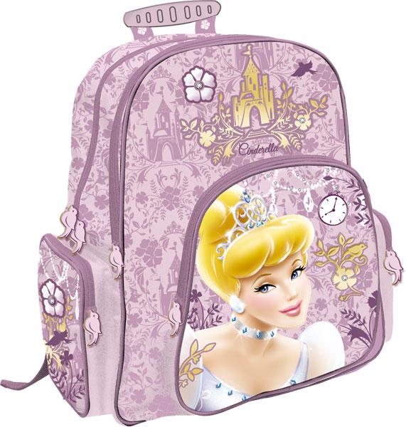 Рюкзак ортопедический с EVA-спинкой 38x29x15 см Принцессы