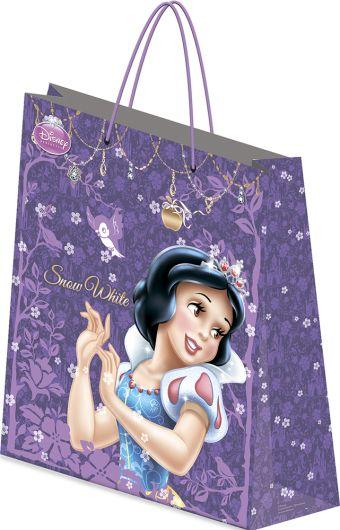 Пакет подарочный, 18 х 21 х 8,5 см, эффект: матовая ламинация, плотность бумаги 128 гр/м2 упак. 12/360/720 шт. Princess