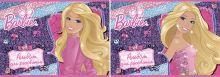 Альб д.рис 40л Клей А4 B805/2-ЕАС твин УФ, тисн фольг Barbie