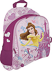 Рюкзак, мягкая спинка с вентиляционной сеткой 39x31x12 см Принцессы