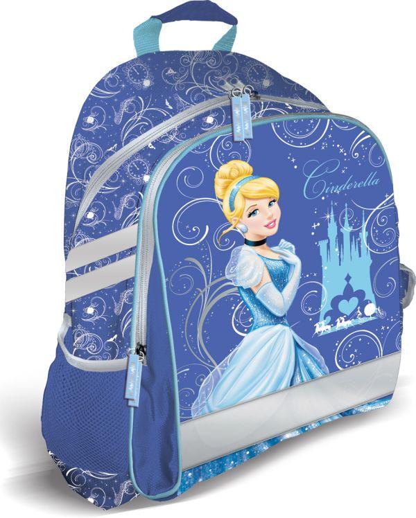 Рюкзак, мягкая спинка с вентиляционной сеткой. Размер39 х 31 х 12 см, упак. 3//12шт. Princess