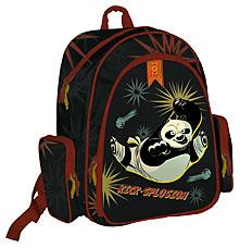 Рюкзак ортопедический с EVA-спинкой 38х36х16 Kung Fu Panda