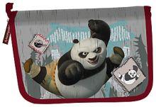 Пенал жесткий, с канц. принадл., 20 предметов 21х14х4 KungFu Panda