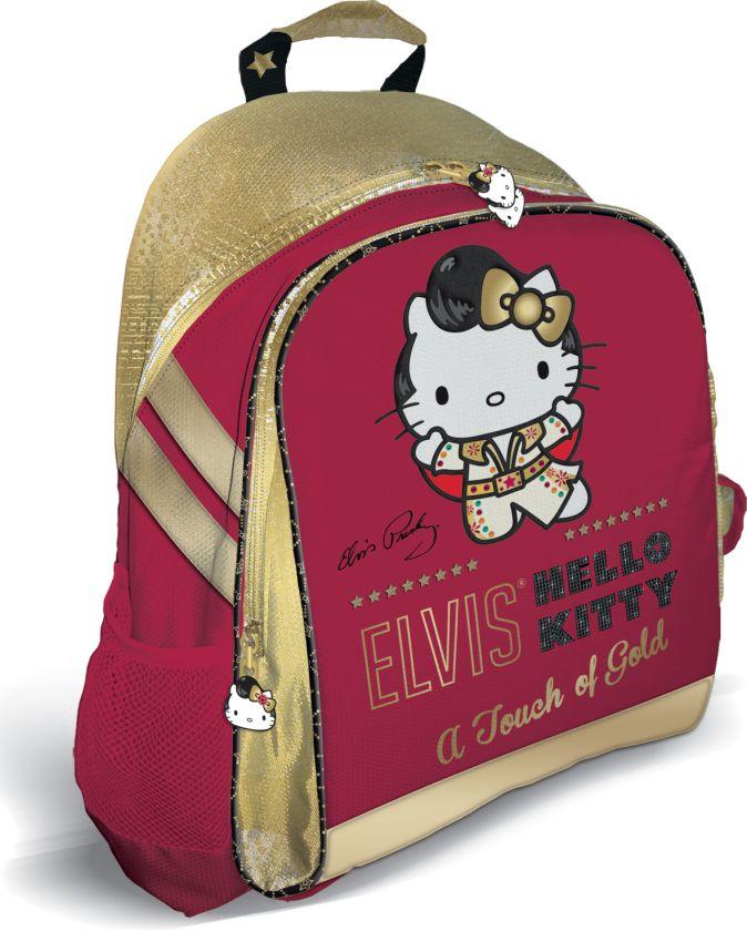 Рюкзак, мягкая спинка с вентиляционной сеткой. Размер39 х 31 х 12 см, упак. 3//12шт. Hello Kitty Elvis