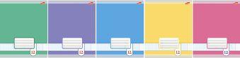 Тетр 12л скр А5 лин 7114/5-ЕАС Цветные фоны