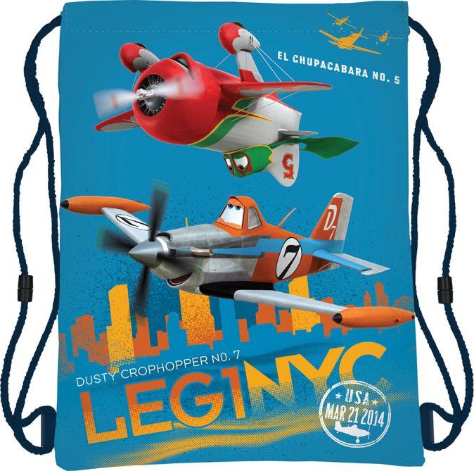Сумка-рюкзак для обуви Размер 43 х 34 см Упак. 12/24/96 шт. Planes