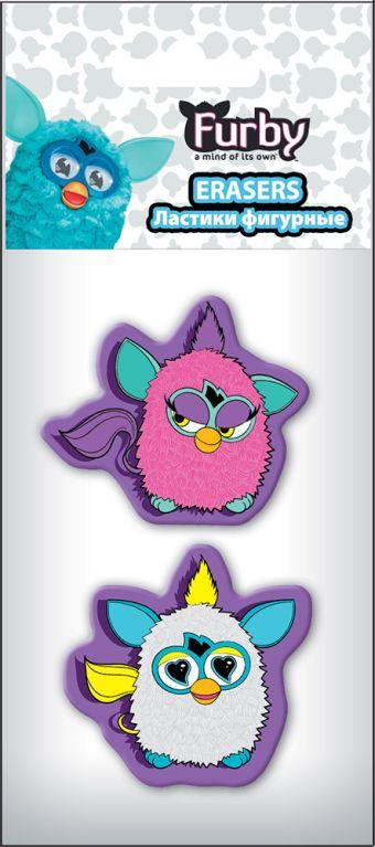 Ластики фигурные малые, 2 шт. Печать на корпусе - термоперенос. Упаковка - ПП-пакет, 4+0, с европодвесом. Размер 13 х 6 х 1 см Furby