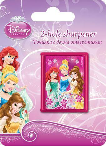 Точилка с двумя отверстиями, 1шт. Печать на корпусе - полноцветная. Упаковка - блистер, 500 г/м2, 4+1, европодвес, размер 11х 8 х 2,5 Princess