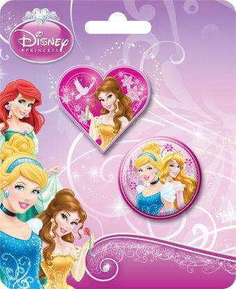 Набор канцелярский в блистере: точилка большая, ластик фигурный, размер 13,5 х 8 х 1,5 см, упак. 40/400 шт.Princess