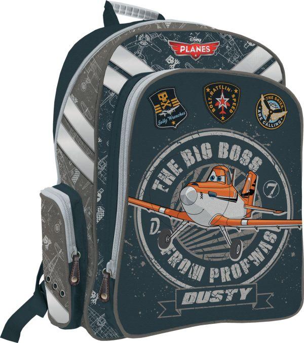 Рюкзак ортопедический с EVA-спинкой. Размер38 х 36 х 16 см, упак. 3//12шт. Planes