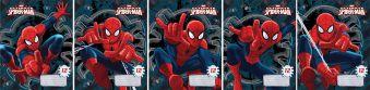 Тетр 12л скр А5 лин карт SM213/5-EAC полн УФ Spider-man