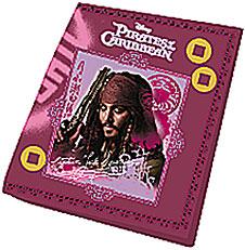 Кошелек 11х9х3 Пираты