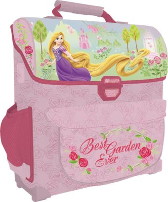 Рюкзак, спинка - толстый поролон, усиление пластиком, жесткие боковые и передняя стороны34х27х12 см Принцессы