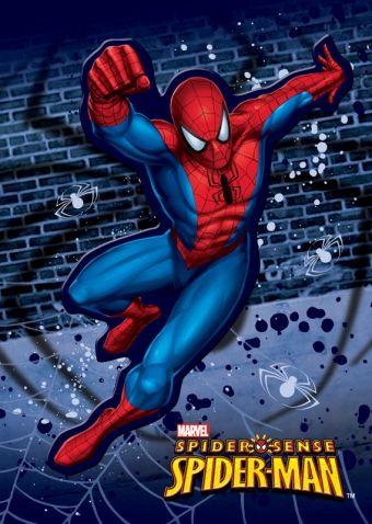 Телеф.кн  10 х 7 см, эффект: выборочный УФ лак, вырубная фигурка, упак. 25/200 шт.Spider-man