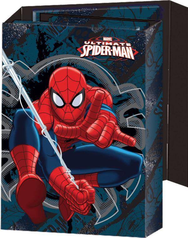 Органайзер складной:  ноутбук, адресная книга, дневник. Размер 8,5 x 11 (11 х 16,5 х 2,5) см Упак. 25/150 шт. Spider-man