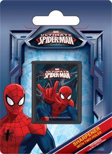 Точилка с двумя отверстиями, 1шт. Печать на корпусе - полноцветная. Упаковка - блистер, 500 г/м2, 4+1, европодвес, размер 11х 8 х 2,5 Spider-man