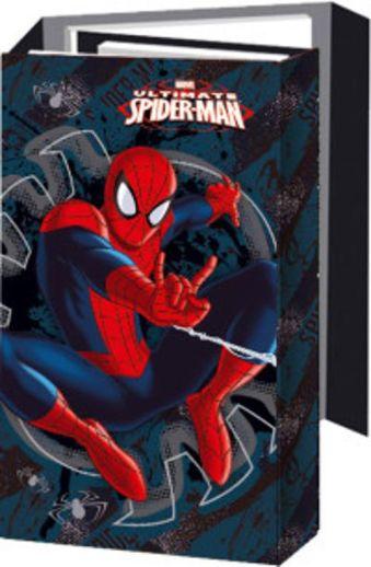 Органайзер складной:  ноутбук, адресная книга, дневник. Размер 9,5 х 16 (12,5 x 21,5 x 3) см Упак. 25/100 шт Spider-man