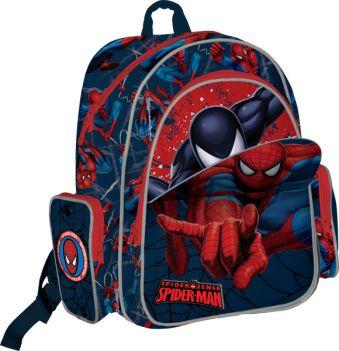 Рюкзак ортопедический с EVA-спинкой 38х36х16 см Spider-man