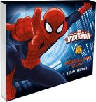 Канцтовар Пластилин, 10 цветов. Вес - 20 гр. на каждый цвет. Упаковка - картонная коробка, 300 г/м2, печать 4+0. Размер 15,2 х 13,5 х 2 см Spider-man Classic