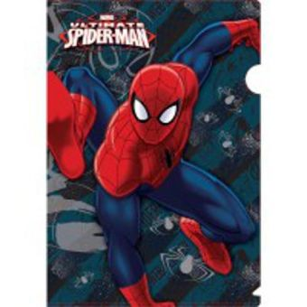 Пластиковая папка-уголок. Spider-man Classic