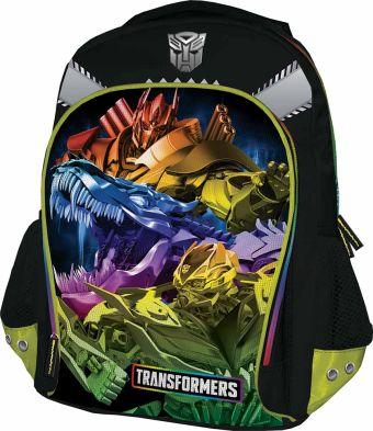 Рюкзак, мягкая спинка с вентиляционной сеткой. Размер 40 х 30 х 13 см Упак. 3//12 шт. Transformers 4