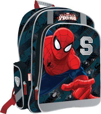 Рюкзак ортопедический с EVA-спинкой, размер38 х 36 х 16 см, упак. 3//12шт. Spider-man