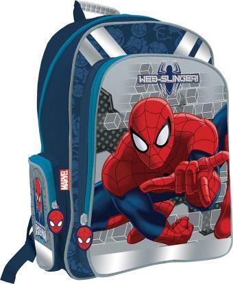 Рюкзак с эргономичной EVA-спинкой. Размер 38 x 29 x 13 см Упак. 3//12 шт. Spider-man Classic