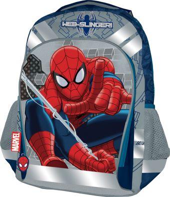 Рюкзак, мягкая спинка с вентиляционной сеткой. Размер 40 х 30 х 13 см Упак. 3//12 шт. Spider-man Classic