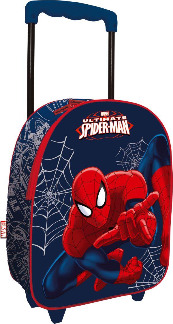 Чемодан на роликах , Spider-man