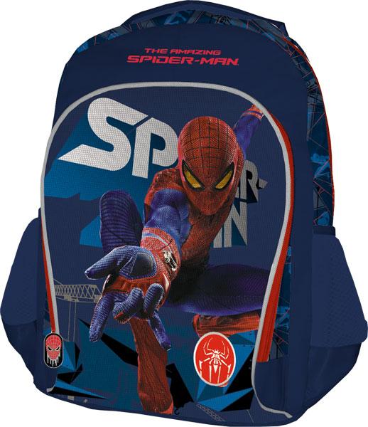 Рюкзак, мягкая спинка с вентиляционной сеткой. Размер 40 х 30 х 13 см, Spider-man 4
