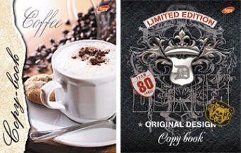 Тетр инт А5 96л 5834,5835-VQ Кофе, Limited Edition (значки)