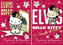 Бум цв д/дет тв 20цв 20л(5мет,5флю) Папка 200*290 HK34,HK35-VQ Hello Kitty