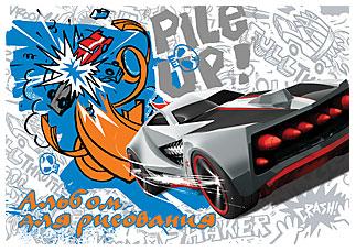Альб д.рис 20л скр А4 HW33-VQ Hot Wheels