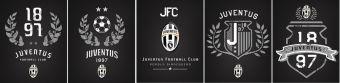 Тетр 40л скр А5 кл JFC10/5-VQ выб УФ Juventus Football Club