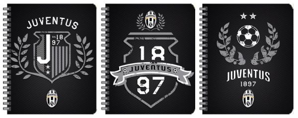 Тетр 80л Wсп А5 кл JFC13/3-VQ выб УФ кругл Juventus Football Club