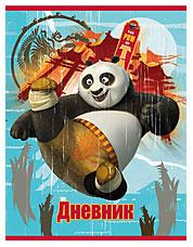 Дневн мл шк порол 7БЦ PND11-VQ тисн фольг, выб УФ Kung Fu Panda