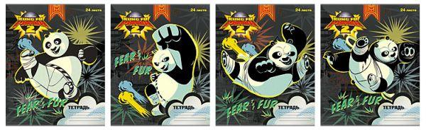 Тетр 24л скр А5 лин PND19/4-g-VQ Kung Fu Panda