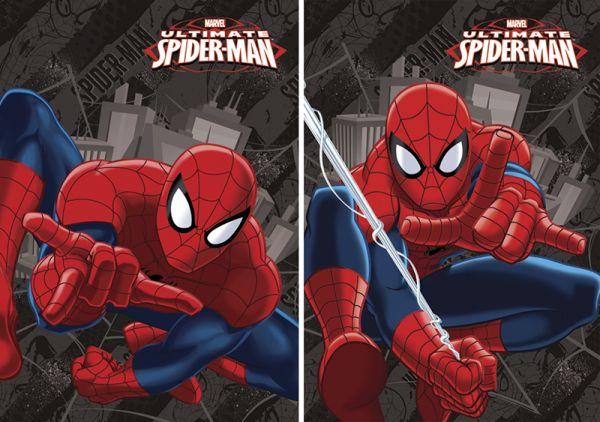 Бл 40л Клей 120*170 SM251,SM252-VQ выб УФ Spider-man