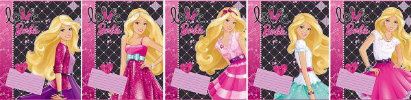 Тетр 24л скр А5 кл B716/5-EAC полн УФ Barbie