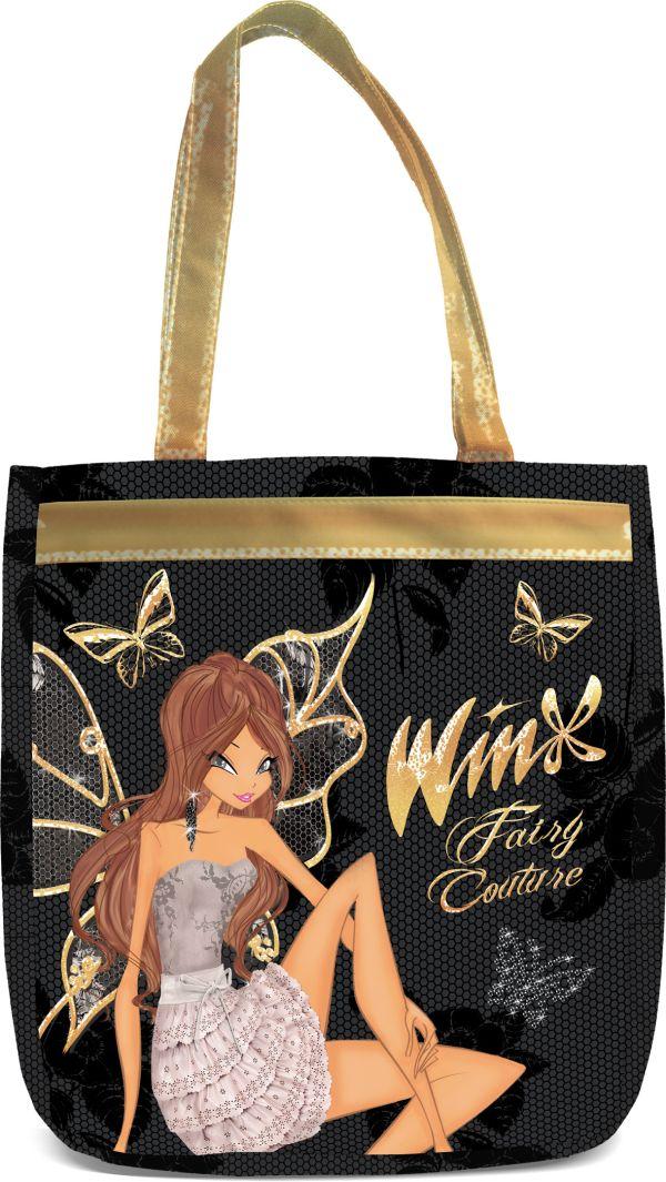 Сумка. Размер 38 x 31 x 12 см, упак. 4//12 шт. Winx Fashion (Winx Fairy Couture)