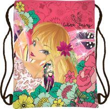 Сумка-рюкзак для обуви Размер 43 х 34 см Упак. 12/24/96 шт. Winx Fashion (Winx Fairy Couture)