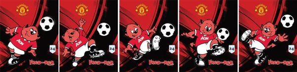 Тетр 24л скр А5 кл MT1/5-EAC полн УФ Manchester United