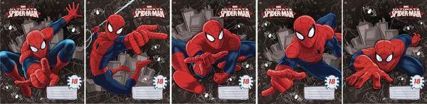 Тетр 18л скр А5 лин карт SM223/5-EAC полн УФ Spider-man