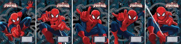Тетр 24л скр А5 лин SM226/5-EAC полн УФ Spider-man
