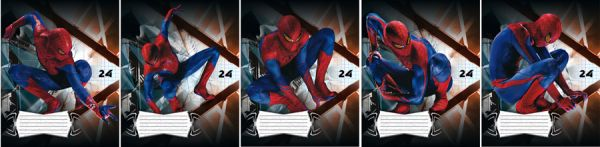 Тетр 24л скр А5 кл SM4F39/5-g-EAC полн УФ Spider-man