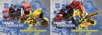 Альб д.рис 40л Клей А4 TR79/2-EAC твин УФ, тисн фольг Transformers Prime